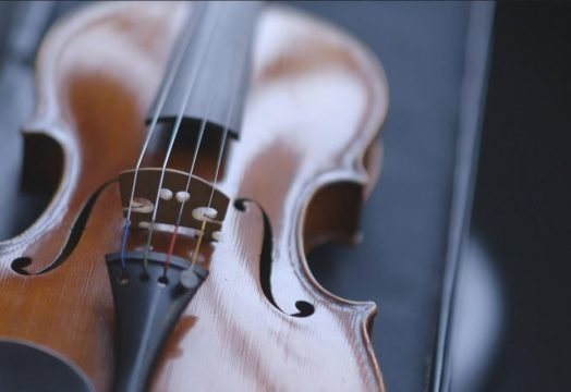 Holocaust Survivor Donates Violin