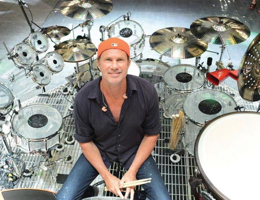 Chad Smith Teams up With Jon Batiste